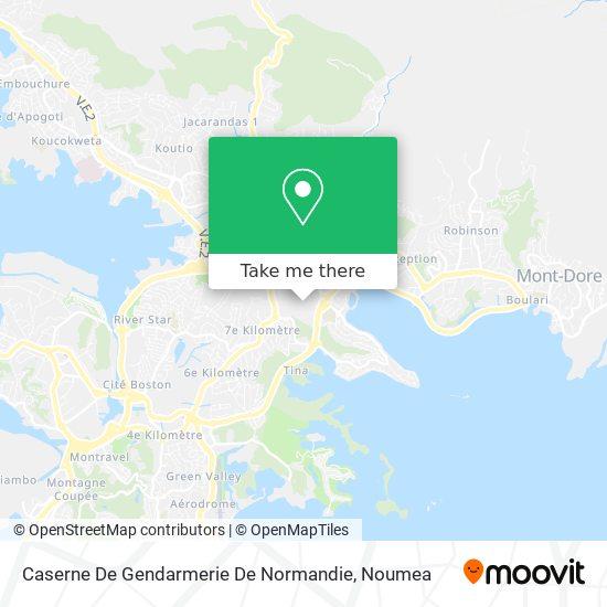 Caserne De Gendarmerie De Normandie map