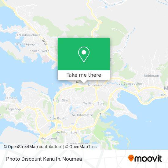 Photo Discount Kenu In map