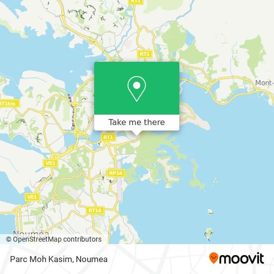 Parc Moh Kasim map