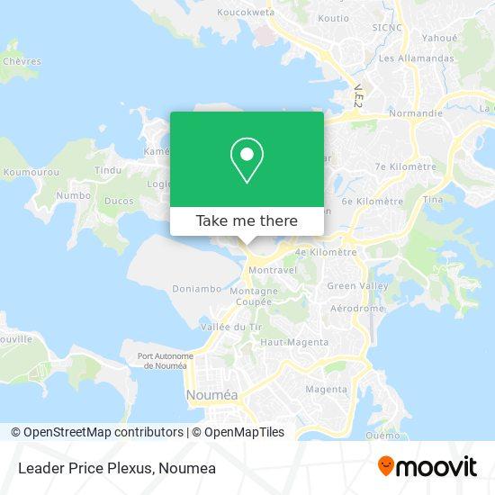 Leader Price Plexus map
