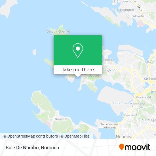 Baie De Numbo map