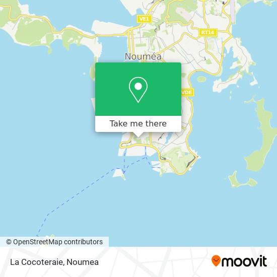 La Cocoteraie map