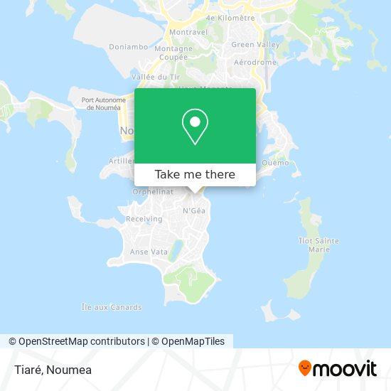 Tiaré map