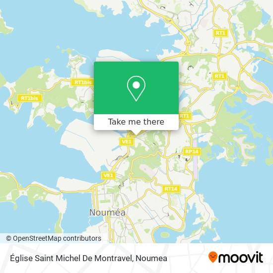 Église Saint Michel De Montravel map