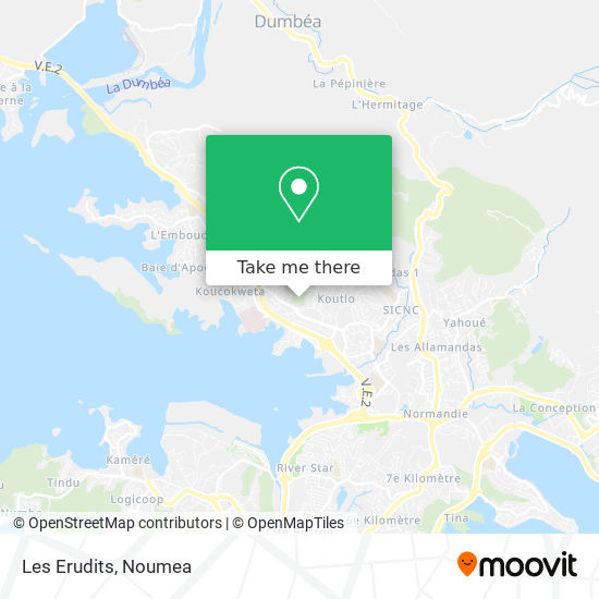Les Erudits map