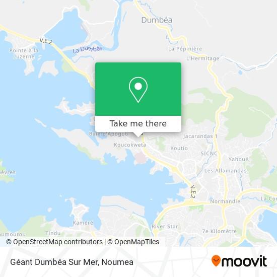 Géant Dumbéa Sur Mer map