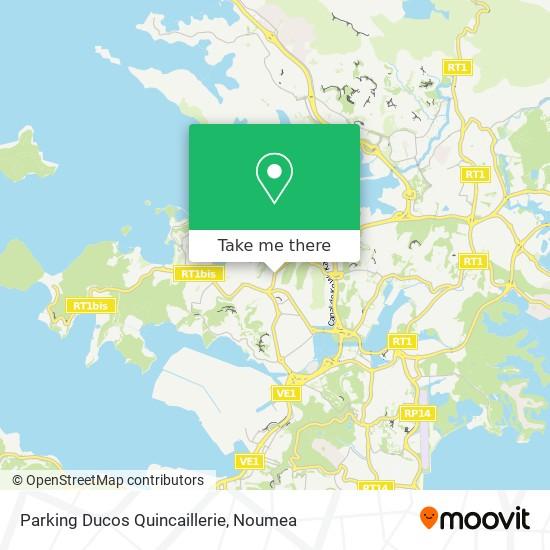 Parking Ducos Quincaillerie map