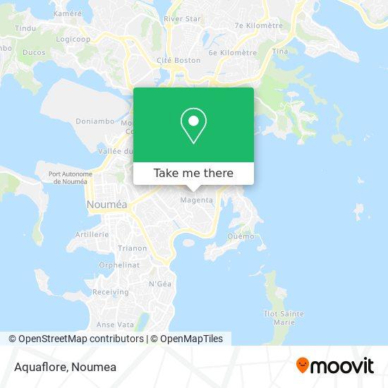 Aquaflore map