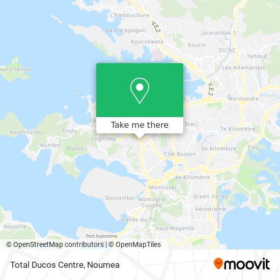 Total Ducos Centre map