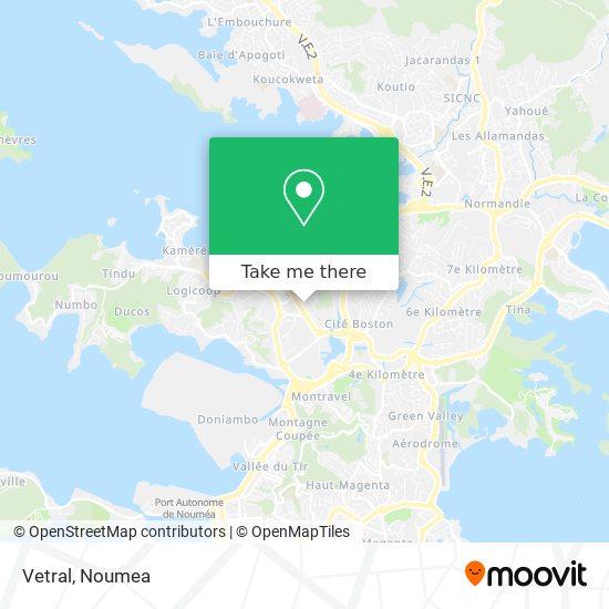 Vetral map