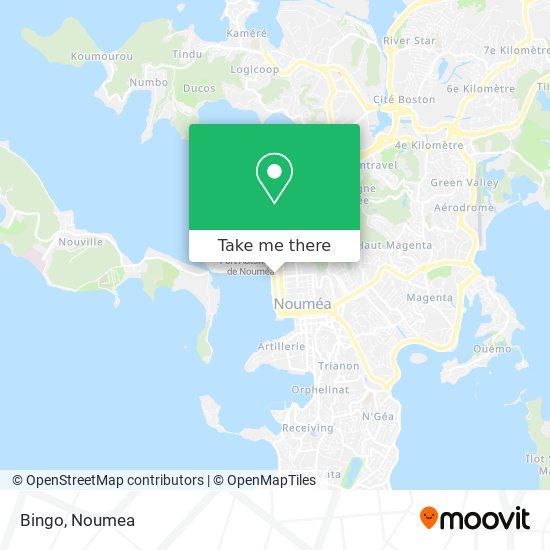 Bingo map