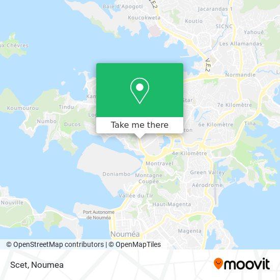 Scet map
