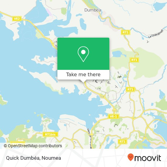 Quick Dumbéa map