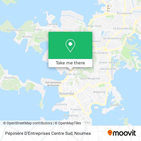 Pépinière D'Entreprises Centre Sud map