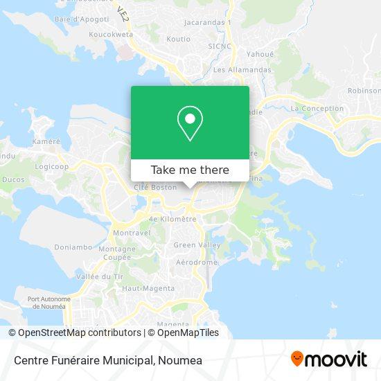 Centre Funéraire Municipal map
