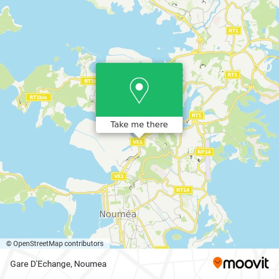 Gare D'Echange map