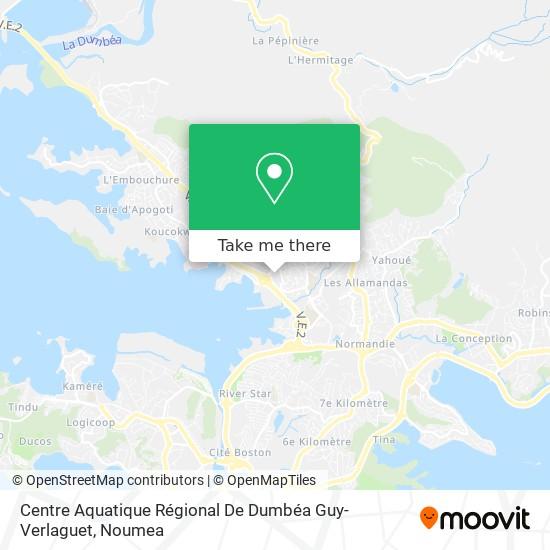 Centre Aquatique Régional De Dumbéa Guy-Verlaguet map