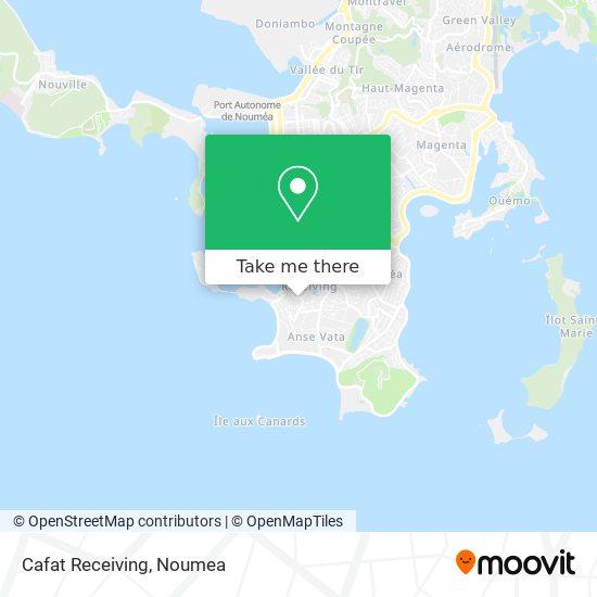 Cafat Receiving map