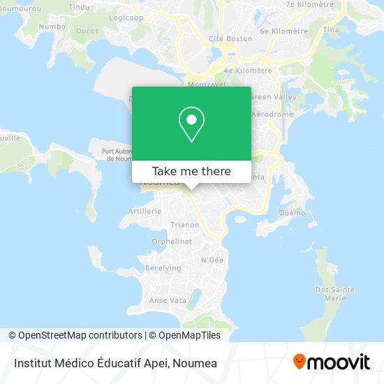 Institut Médico Éducatif Apei map