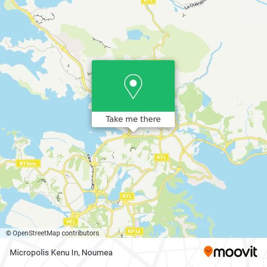 Micropolis Kenu In map