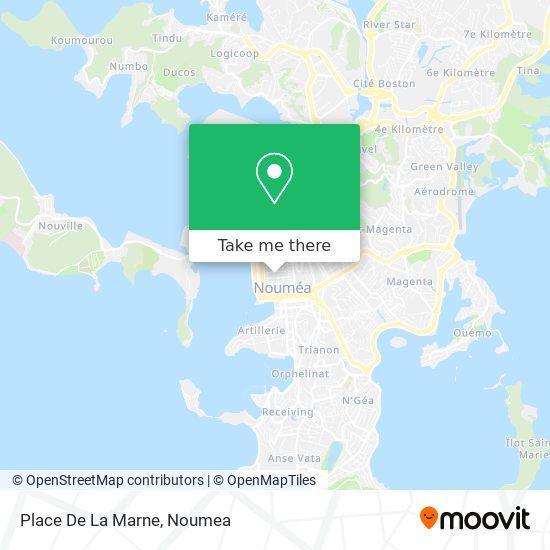 Place De La Marne map