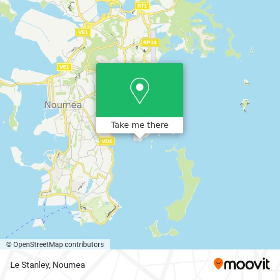 Le Stanley map