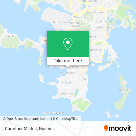 Carrefour Market map
