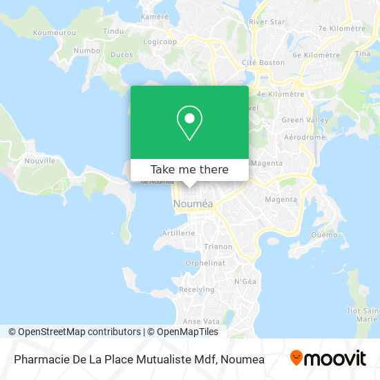 Pharmacie De La Place Mutualiste Mdf map