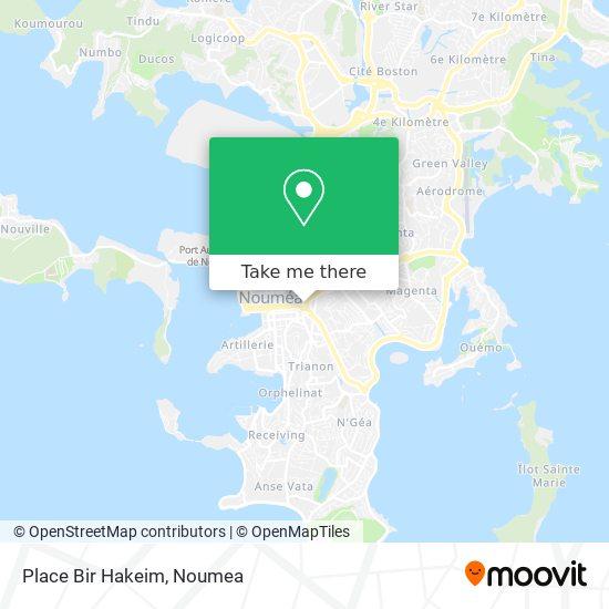 Place Bir Hakeim map