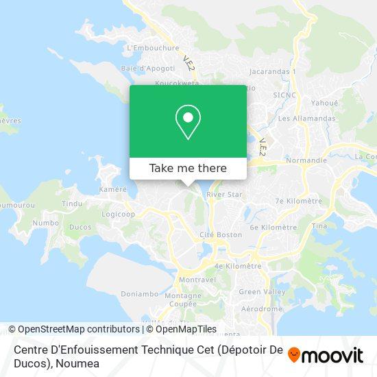 Centre D'Enfouissement Technique Cet (Dépotoir De Ducos) map