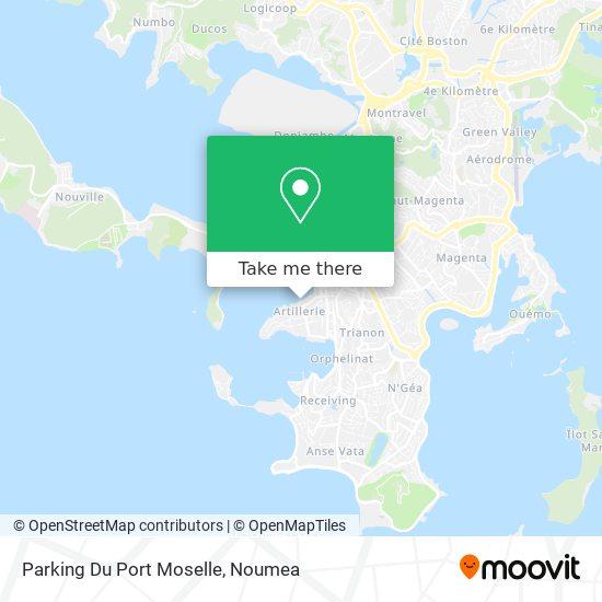 Parking Du Port Moselle map