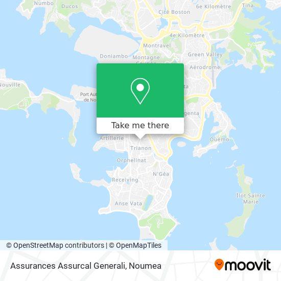 Assurances Assurcal Generali map