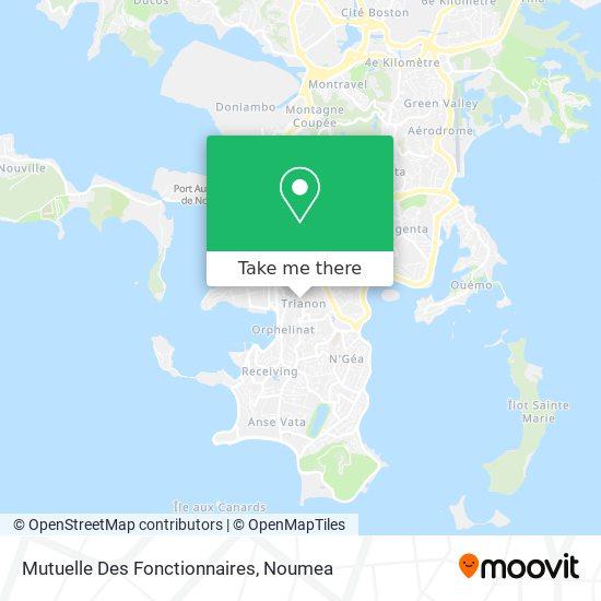 Mutuelle Des Fonctionnaires map