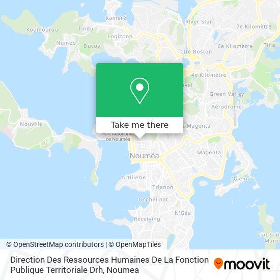 Direction Des Ressources Humaines De La Fonction Publique Territoriale Drh map