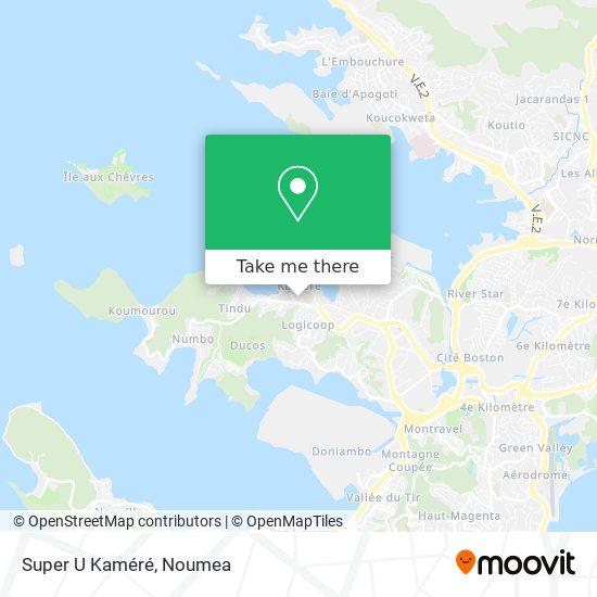 Super U Kaméré map
