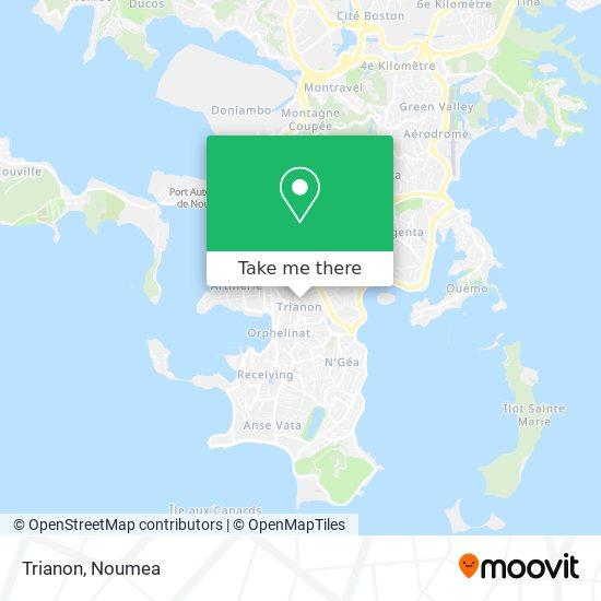 Trianon map