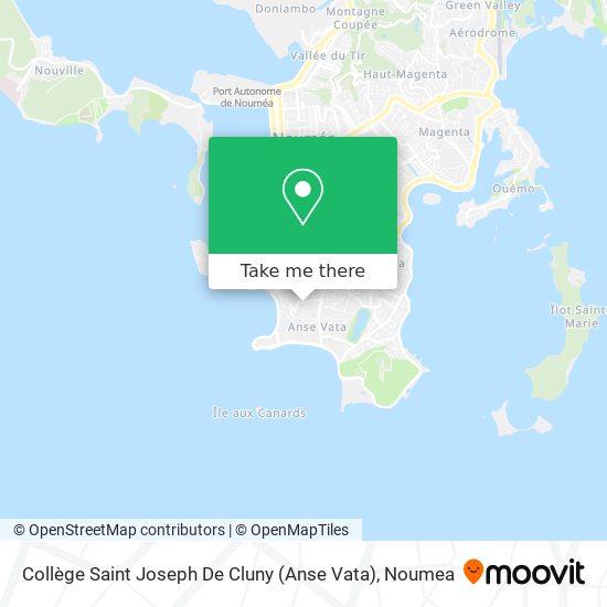Collège Saint Joseph De Cluny (Anse Vata) map