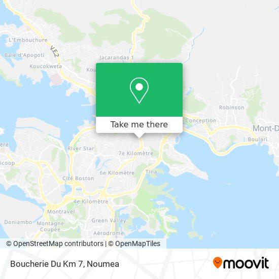 Boucherie Du Km 7 map