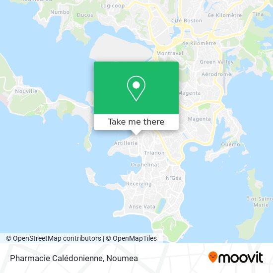Pharmacie Calédonienne map
