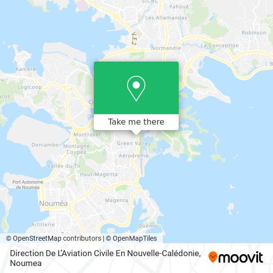 Direction De L'Aviation Civile En Nouvelle-Calédonie map
