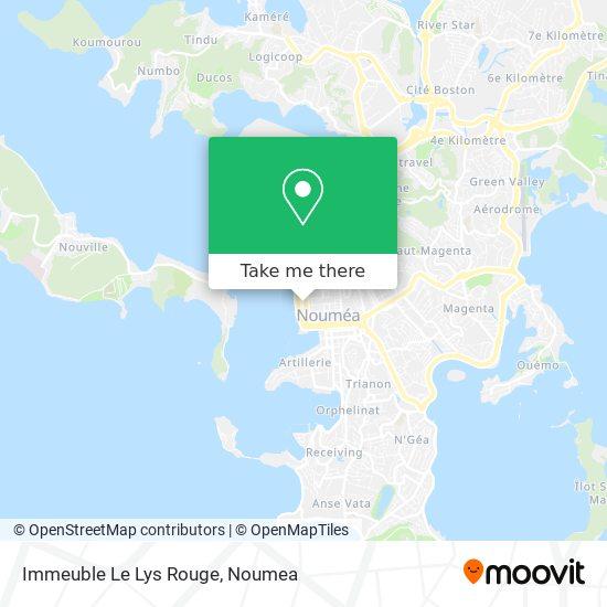 Immeuble Le Lys Rouge map