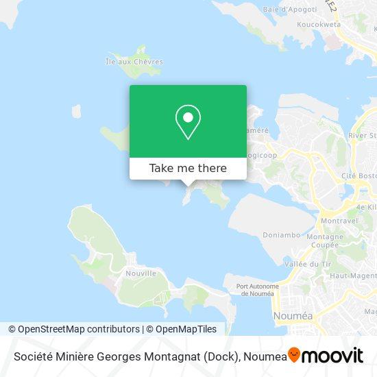 Société Minière Georges Montagnat (Dock) map