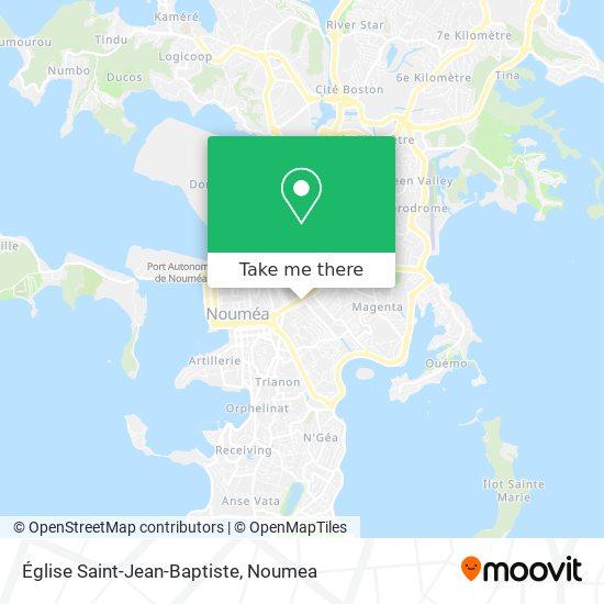 Église Saint Jean Baptiste map