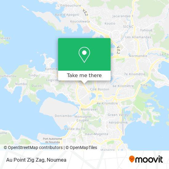 Au Point Zig Zag map