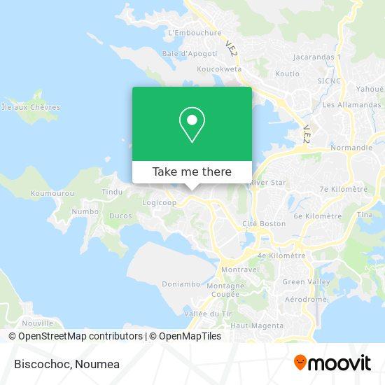 Biscochoc map