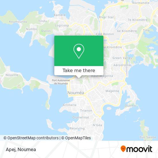 Apej map