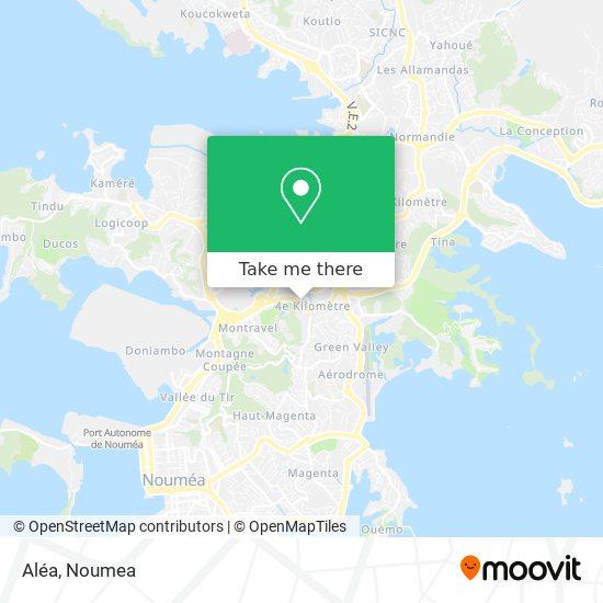 Aléa map