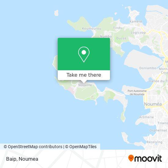 Baip map