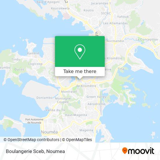 Boulangerie Sceb map