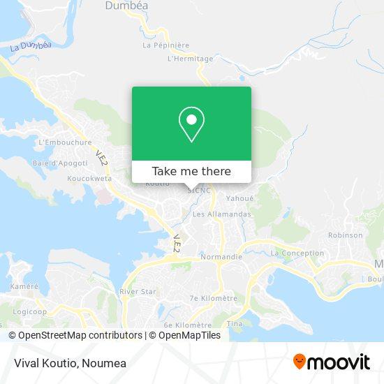 Vival Koutio map